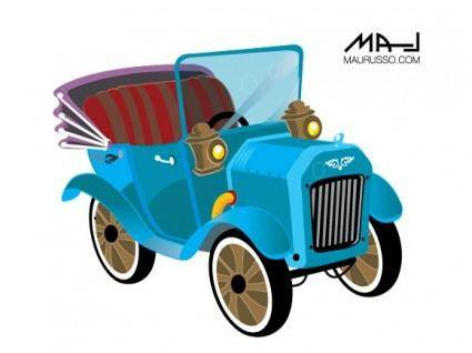 free vector Old car classic