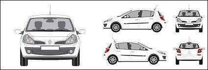 free vector Renault Clio car