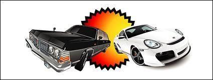 free vector Automotive vector material