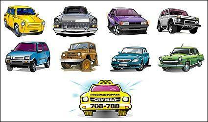 free vector Vector beautiful cars-3