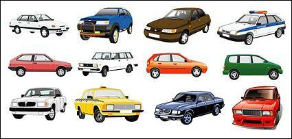 free vector Vector beautiful cars-1