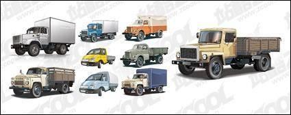 Truck vector material