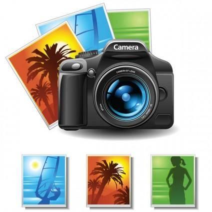 Camera lens 03 vector