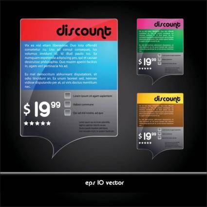 free vector Beautiful boxes 01 vector