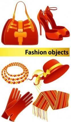 Fashion women vector goods