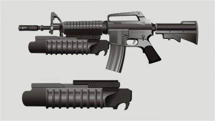Vector m16 rifles