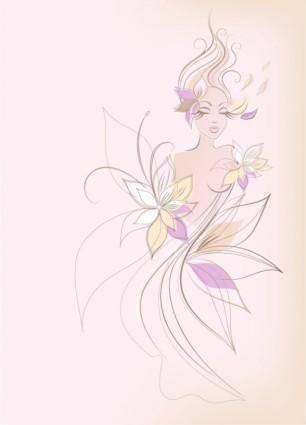 Fashion women illustration vector 2