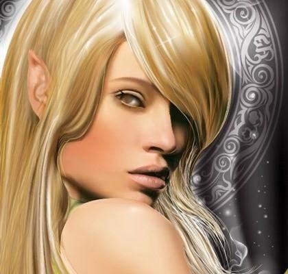 Free Fantasy Girl Vector