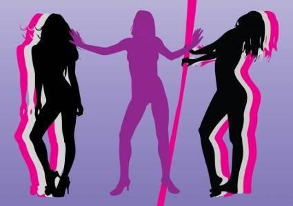 free vector Pin-Up Girls Vectors