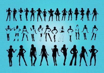 Sexy Girls Silhouettes 27991