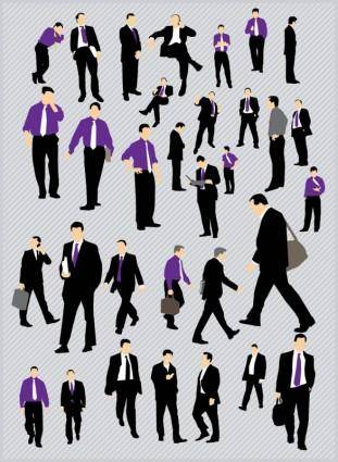 free vector Business People Pack