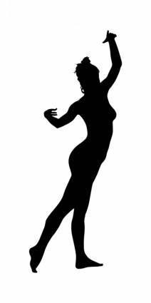 free vector Naked Dancer