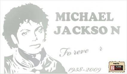 free vector Michael Jackson Forever