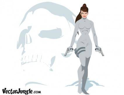 free vector Skull-Crusher