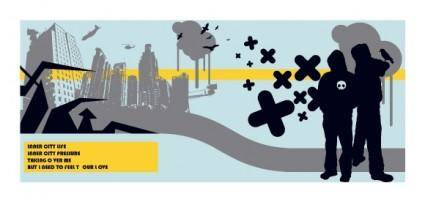 free vector City