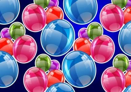 free vector Fine bubbles 02 vector