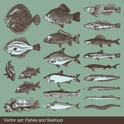 free vector Big fish vector