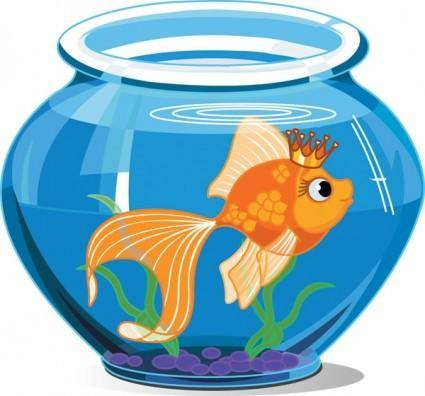 free vector Goldfish vector 1