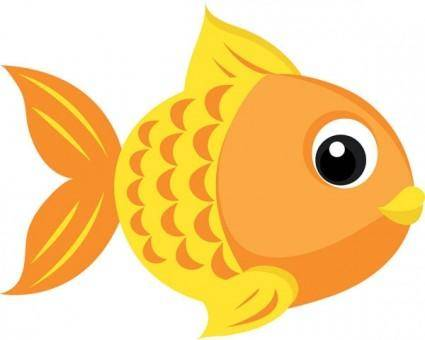 Goldfish vector 4
