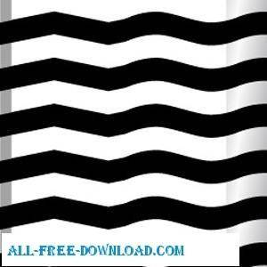 free vector Waves And Ridges Illustrator Patterns