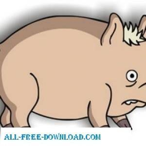 free vector Spider Pig