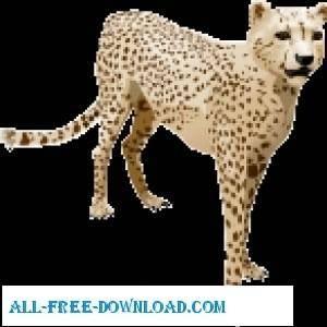 free vector Cheetah Vector