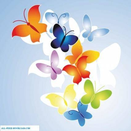 free vector Butterfly 2