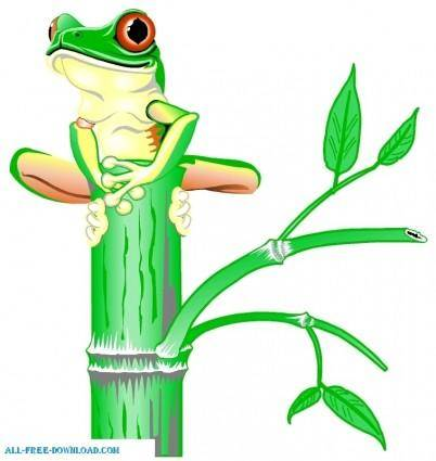 free vector Tree Frog 00125