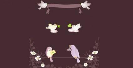 free vector Birds Vector