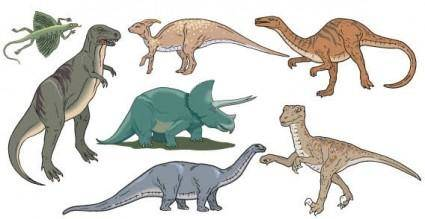 free vector Dinosaurs vector