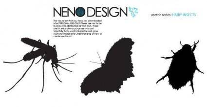 free vector Insects vector