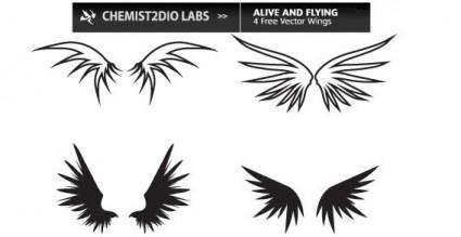 free vector Wings vector