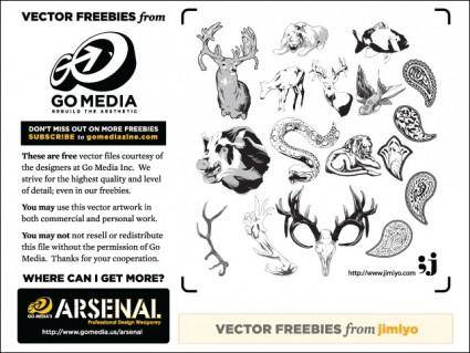 free vector Animal Vectors from Jimiyo
