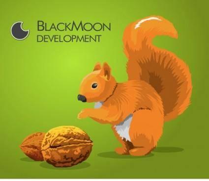 free vector Squirrel