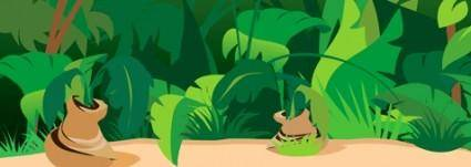 Jungle Scene Background