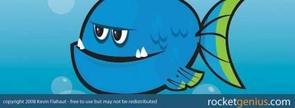 Vector Blue Fish