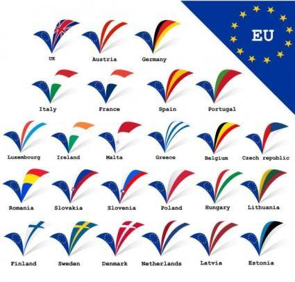 free vector Eu signs and symbols 02 vector