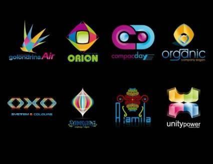free vector Color logo template vector