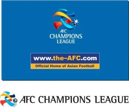 Afc champions league logo vector