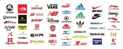 Sports brand logo vector