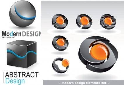 free vector Threedimensional graphics logo vector