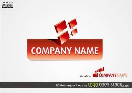 free vector 3d logo vector