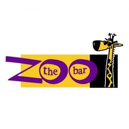 free vector Zoo the bar
