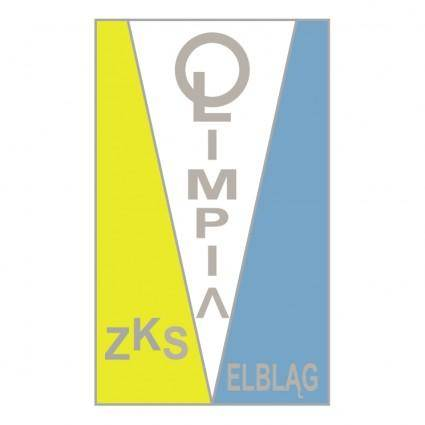 free vector Zks olimpia elblag