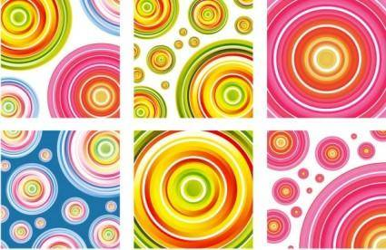 free vector Beautiful color ring vector