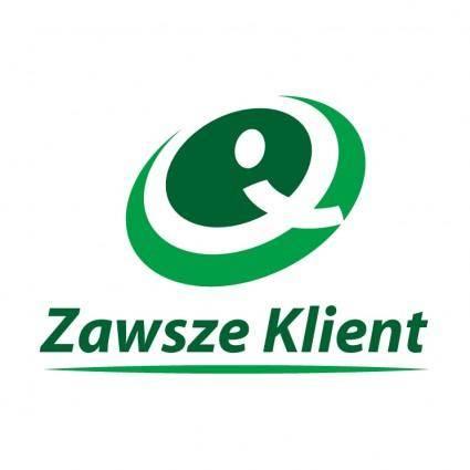 free vector Zawsze klient