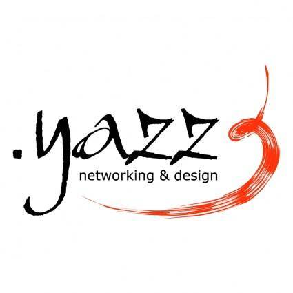 free vector Yazz networking design