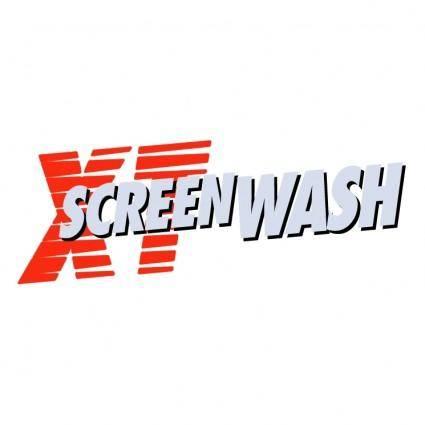 free vector Xt screenwash