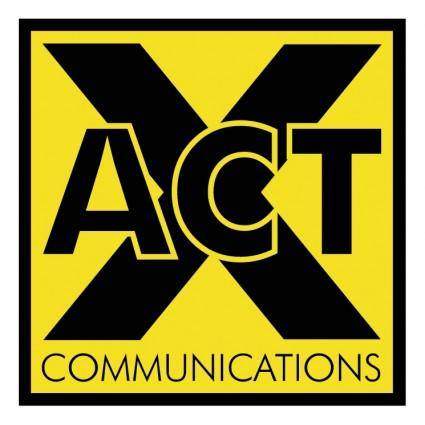 free vector X act communications