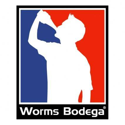 free vector Worms bodega